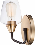 Maxim 26121CLBZAB Goblet Modern Bronze / Antique Brass Wall Lighting Sconce