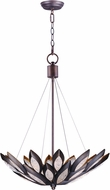 Maxim 26314ICBRB Lotus Modern Burnished Bronze Xenon Hanging Pendant Lighting