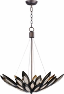 Maxim 26315ICBRB Lotus Contemporary Burnished Bronze Xenon Hanging Pendant Light