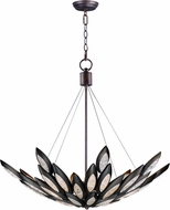 Maxim 26316ICBRB Lotus Contemporary Burnished Bronze Drop Lighting