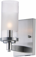 Maxim 26321CLFTSN Crescendo Modern Satin Nickel Wall Mounted Lamp