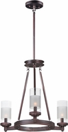 Maxim 26325CLFTOI Crescendo Contemporary Oil Rubbed Bronze Mini Hanging Chandelier
