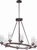 Maxim 26328CLFTOI Crescendo Contemporary Oil Rubbed Bronze Ceiling Chandelier