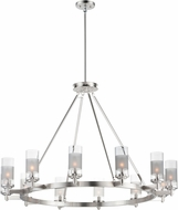 Maxim 26329CLFTSN Crescendo Modern Satin Nickel Chandelier Lighting