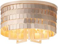Maxim 26360CHPGLD Glamour Champagne / Gold Ceiling Lighting Fixture
