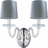 Maxim 27542CLPN Venezia Polished Nickel Light Sconce