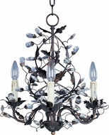 Maxim 2850OI Elegante Oil Rubbed Bronze 18.5  Mini Chandelier Light