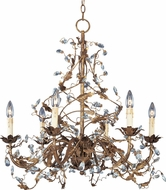 Maxim 2851EG Elegante Etruscan Gold 26.5  Lighting Chandelier