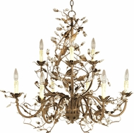 Maxim 2852EG Elegante Etruscan Gold 29  Lighting Chandelier