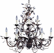 Maxim 2852OI Elegante Oil Rubbed Bronze 29  Chandelier Lamp