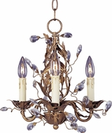 Maxim 2855EG Elegante Etruscan Gold 14  Mini Lighting Chandelier