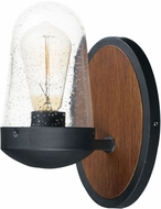 Maxim 30011CDAPBK Lido Contemporary Antique Pecan / Black Exterior Lamp Sconce