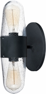 Maxim 30012CDBK Lido Modern Black Outdoor Lighting Wall Sconce