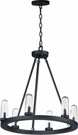 Maxim 30016CDBK Lido Modern Black Outdoor Lighting Chandelier