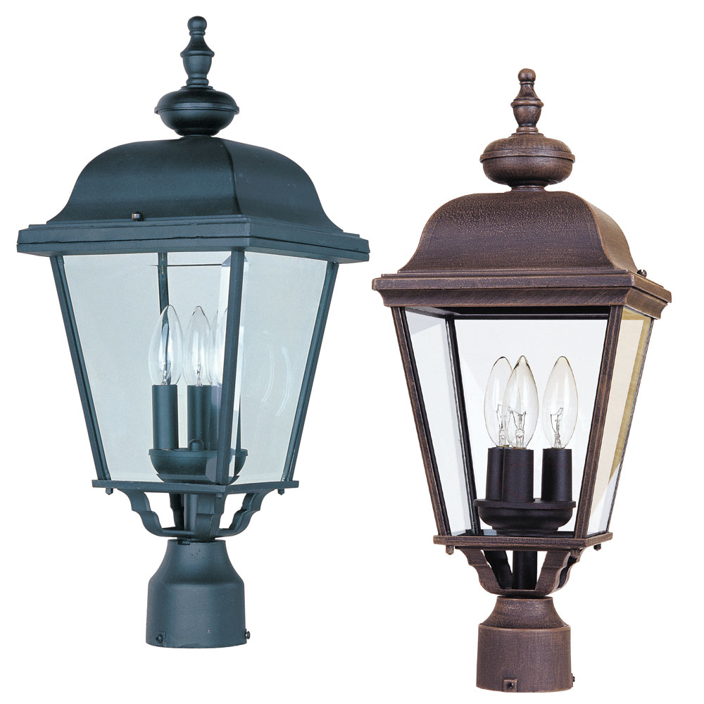 Traditional 24 Tall Outdoor Lamp Post