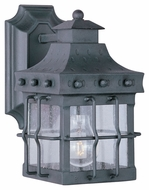 Maxim 30081CDCF Nantucket Traditional Country Forge 10  Tall Exterior Lamp Sconce