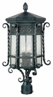 Maxim 30120CDCF Scottsdale Mediterranean Country Forge 11 Wide Exterior Post Light Fixture
