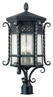 Maxim 30121CDCF Scottsdale Mediterranean Country Forge 25.5 Tall Outdoor Post Lighting