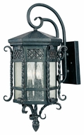 Maxim 30124CDCF Scottsdale Mediterranean Country Forge 11.75  Wide Exterior Wall Sconce Lighting