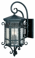 Maxim 30125CDCF Scottsdale Mediterranean Country Forge 28  Tall Outdoor Wall Mounted Lamp