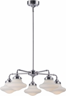 Maxim 30245SWSN New School Modern Satin Nickel LED Chandelier Lamp