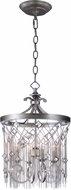 Maxim 30274SM Alessandra Silver Mist Mini Chandelier Lighting
