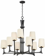 Maxim 30306NI-SHD308CV Anvil Natural Iron Lighting Chandelier