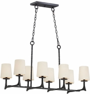 Maxim 30307NI-SHD308CV Anvil Natural Iron Island Lighting