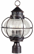 Maxim 30500CDOI Portsmouth 16 inch Outdoor 3 Light Post Fixture