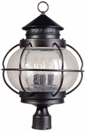 Maxim 30501CDOI Portsmouth 22 inch Outdoor 3 Light Post Fixture