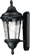 Maxim 3053WGBK Sentry Black Outdoor 8  Wall Light Sconce