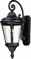 Maxim 3054WGBK Sentry Black Exterior 12.5  Wall Lighting Fixture