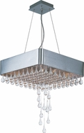Maxim 30724CLAL Drops Modern Brushed Aluminum Halogen Pendant Light