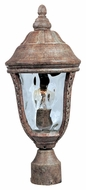 Maxim 3100WGET Whittier DC Traditional Earth Tone 17 Tall Outdoor Post Lamp