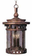 Maxim 3138CDSE Santa Barbara 3 Light Cast Aluminum Outdoor Hanging Fixture