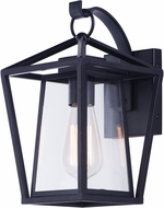 Maxim 3173CLBK Artisan Contemporary Black Outdoor 12  Wall Sconce Light