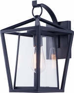 Maxim 3175CLBK Artisan Contemporary Black Outdoor 16  Wall Lamp