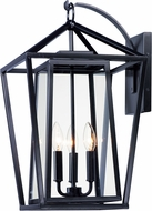 Maxim 3176CLBK Artisan Black Outdoor Wall Sconce Light