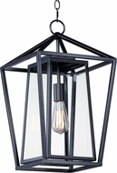 Maxim 3178CLBK Artisan Black Exterior Drop Lighting Fixture