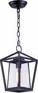 Maxim 3179CLBK Artisan Modern Black Exterior Drop Lighting