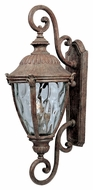 Maxim 3188WGET Morrow Bay Traditional DC Earth Tone 10.5 Wide Exterior Wall Lighting Fixture