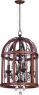 Maxim 32512APBY Miranda Antique Pecan / Bay 15  Foyer Lighting
