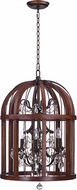 Maxim 32514APBY Miranda Antique Pecan / Bay 20  Foyer Light Fixture