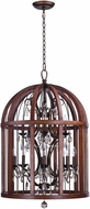 Maxim 32516APBY Miranda Antique Pecan / Bay 26  Foyer Lighting Fixture