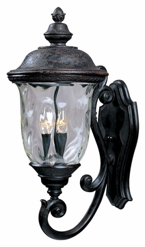 Maxim 3424WGOB Carriage House DC Traditional Oriental Bronze 26.5 Tall Outdoor Wall Lamp