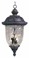 Maxim 3427WGOB Carriage House DC Traditional Oriental Bronze 12.5 Wide Exterior Ceiling Pendant Light