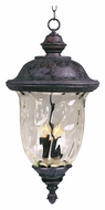 Maxim 3428WGOB Carriage House DC Traditional Oriental Bronze 28 Tall Outdoor Drop Ceiling Light Fixture