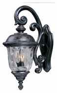 Maxim 3496WGOB Carriage House DC Traditional Oriental Bronze 9 Wide Exterior Wall Light Fixture