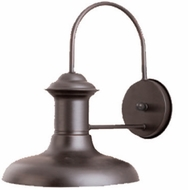 Maxim 35002EB Wharf 10 inches wide Outdoor Single Light Aluminum Wall Sconce