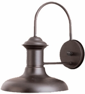 Maxim 35003EB Wharf 12 inches wide Outdoor Single Light Aluminum Wall Sconce